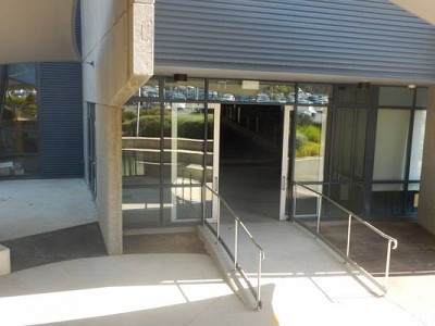 Commercial construction melbourne entrance exterior